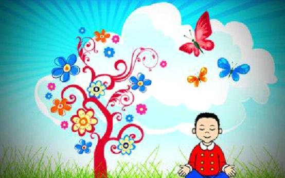 il giardino segreto Sahaja yoga x bambini